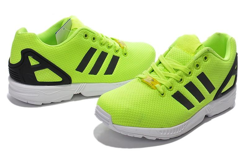 Flux Schwarz Adidas Schuhe Sale Gelbgrün Zx wkOPn0
