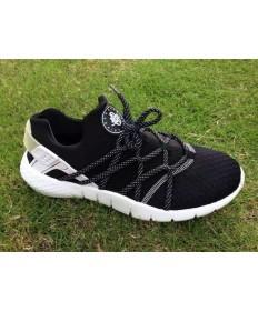 Nike Air Huarache schuhe schwarz