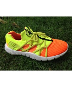 Nike Air Huarache herren orange und gelbe schuhe