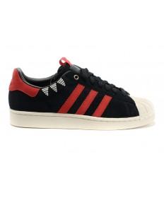Adidas Superstar Musik-herren schwarz / Sienarot schuhe