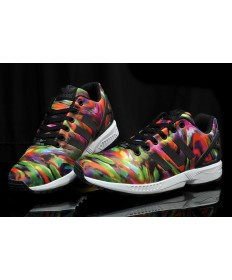 Adidas ZX FLUX sneakers bunten Graffiti