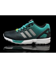 """Adidas ZX Flux """"Reflective"""" Trainersneakers türkis / schwarz"""