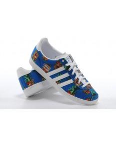 Adidas Gazelle königsblau sneakers für damen