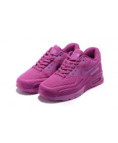 "Nike Air Max 90 ""Pure Platinum"" Trainer schuhe mediun violett rot"