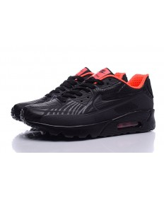 NIKE AIR MAX 90 ULTRA MOIRE schwarz-orange Trainer