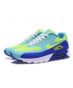 NIKE AIR MAX 90 HYP PRM Independence Day hellen Himmel blau-fluo-royal blau sneakers schuhe