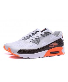NIKE AIR MAX 90 HYP PRM Independence Day weiß-grau-schwarz-orange schuhe