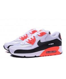 Nike Air Max 90 Spring Sneakers weiß-schwarz-orange für damen