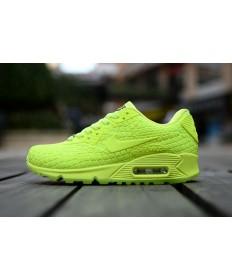 Nike Air Max 90 City Göttin fluo gelb sneakers