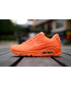 Nike Air Max 90 City Göttin orange rotdamen sneakers schuhe