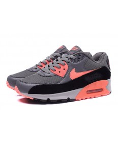 Nike Air Max 90 tiefgrau-orange sneakers