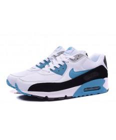 Nike Air Max 90 sneakers sneakers weiß-blau-schwarz