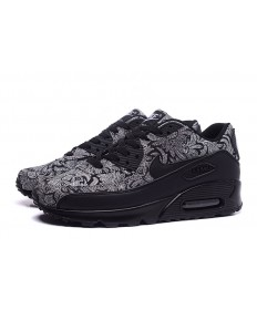 Nike Air Max 90 Trainer schwarzer Farbe