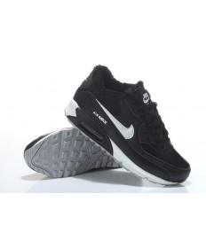 Nike Air Max 90-Pelz-sneakers schwarz