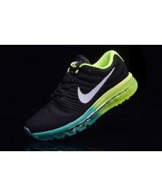 Nike Air Max 2017 schwarz-grün-Trainer-schuhe für Herren