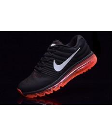 Nike Air Max 2017 schwarz-rote sneakers für Herren
