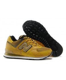 New Balance 574 sneakers Gelb, Gold für herren