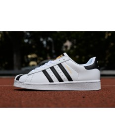 Adidas Superstar 80s Trainer sneakers weiß schwarz gold