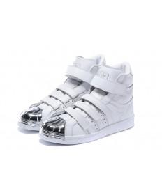 Adidas Superstar 80s sneakers weiß / silber