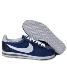 Nike Classic Cortez Nylon Marine-Blau-Grau-schuhe für Herren