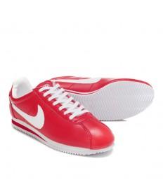 Nike Classic Cortez Leder 09 Rot Weiß Trainer schuhe für Herren