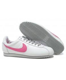 Nike Classic Cortez Leder 09 schuhe Weiße Rose für damen
