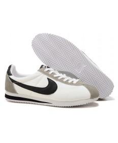 Nike Classic Cortez Nylon schuhe Weiß Grau Schwarz für damen