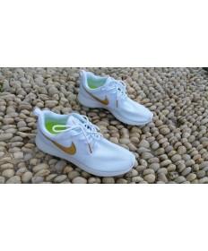 Nike Roshe Run schuhe Weiß / Gold