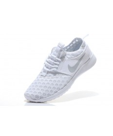 Nike Roshe Run damen Weiß / Grau Trainersneakers