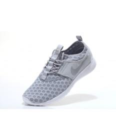 Nike Roshe Run damen hellgrau / weiß Trainer