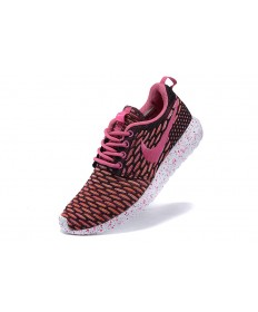 Nike Roshe Run Flyknit für damen Pale violetrot / Schwarz / Rosasneakers