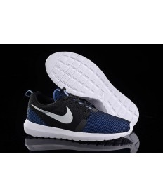 Nike Roshe Run NM BR 3M Midnightblau / Schwarz / Weiß-Trainer