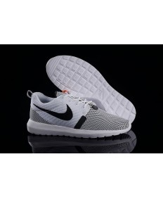 Nike Roshe Run NM BR 3M Weißer Rauch / Grau / Schwarz schuhe