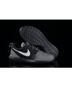 Nike Roshe Run NM BR 3M Schwarz / Grau / Weiß Schuhtrainer