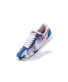 Nike Roshe LD-1000SP Fragment damen royalblau / Blumen druck / weiße sneakers