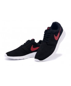 Nike Roshe Run Herren Schwarz / Rot schuhe