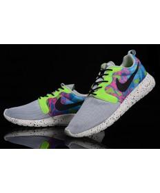 Nike Roshe Run HYP QS 3M schuhe Grayish / Grün
