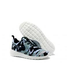 Nike Roshe Run Air 3M Trainer sneakers Hellblau / Schwarz