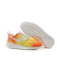 Nike Roshe Run Air 3M Sonnenuntergang / Orange / Gelb damen Trainersneakers