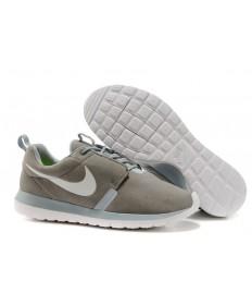 Nike Roshe Run NM BR 3M Suede herren grau / hellgrau / Laser blau schuhe