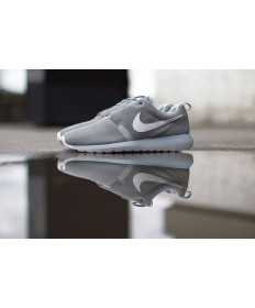 Nike Roshe Run NM BR 3M Suede Ash Yin und Yang-Trainer-schuhe für Herren