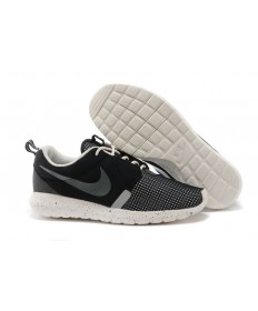Nike Roshe Run NM BR 3M Schwarz / Segel weiße sneakers für Herren