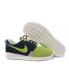 Nike Roshe Run NM BR 3M Gamma Grün / Dunkelblau / Weiß Segel Trainer für Herren