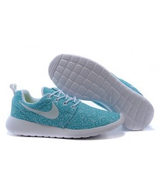 Nike Roshe Run Herren Medium türkis / weiß Trainer