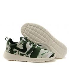 Nike Roshe Run Armee Blau / Segel weiß / hellgrau schuhe