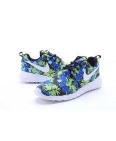 Nike Roshe Run Blau / Gelb / Schwarz / Weiß-Trainer