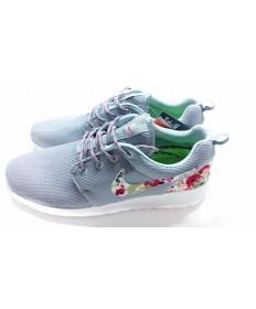 Nike Roshe Run sneakers Grau / Blumen -Druck für Herren
