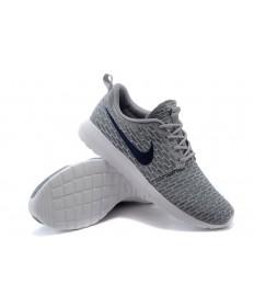 Nike Flyknit Roshe Run Herren Lovers Grau / Schwarz schuhe