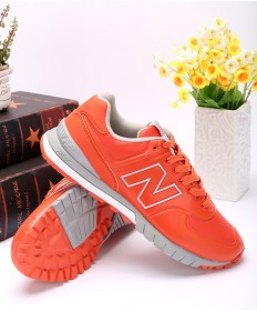 New Balance 574 Revlite orange rot sneakers