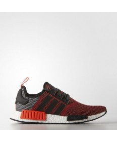 Adidas NMD_R1 Original-Trainersneakers Farbe Lush rot S16-St / Kern Schwarz / Weiß FTWR